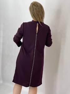 Платье короткое однотонное А47794