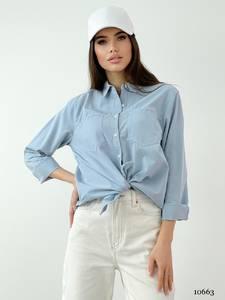 Рубашка с длинным рукавом А35426