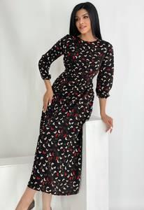 Платье длинное нарядное А46406