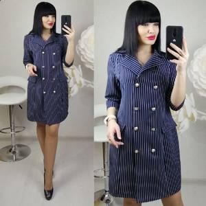 Платье короткое нарядное деловое Х8689