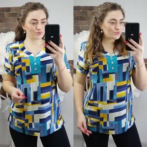 Блуза с коротким рукавом Х6299
