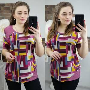 Блуза с коротким рукавом Х6300