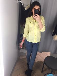 Рубашка однотонная Х3643