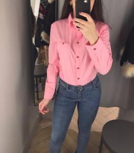 Рубашка однотонная Х3645