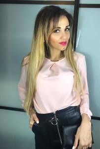 Блуза розовая Х4812