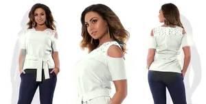 Блуза нарядная Х7436