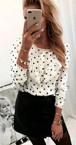 Рубашка с кружевом Я7726