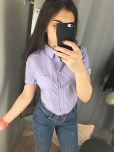 Рубашка однотонная Х3633