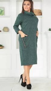 Платье короткое однотонное Ш0765