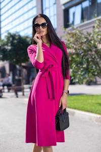 Платье короткое коктейльное классическое Ф7181
