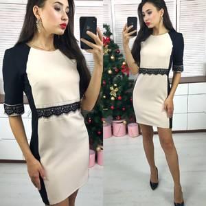 Платье короткое элегантное современное Х2839