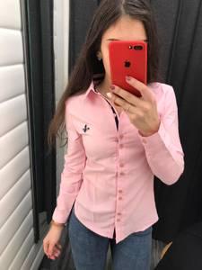 Рубашка однотонная Х3636