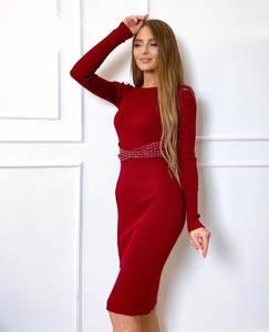 Платье короткое облегающее А52675