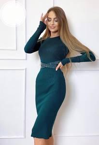 Платье короткое облегающее А52676