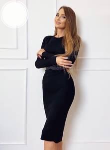 Платье короткое облегающее А52681