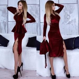 Платье элегантное облегающее короткое Х0452