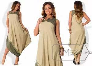 Платье длинное летнее Ц2144