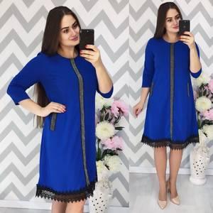Платье короткое нарядное Ф3889