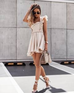 Платье короткое летнее А47769