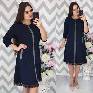 Платье короткое нарядное Ф3891