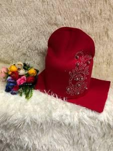 Шапка и шарф Хомут У8414