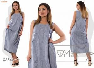Платье длинное летнее Ц2148