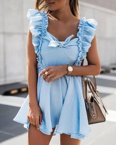 Платье короткое летнее А47771