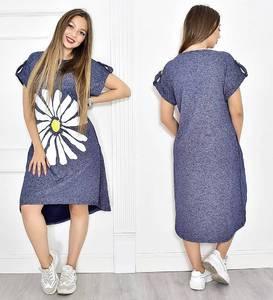 Платье короткое повседневное летнее Т6659