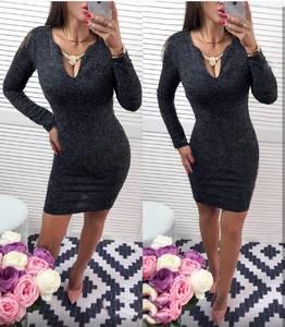 Платье короткое вечернее облегающее У8079