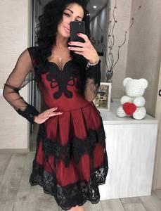 Платье короткое вечернее нарядное Ц1208