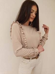 Блуза с длинным рукавом А49540