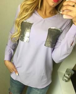Блуза с длинным рукавом Ф5912