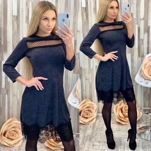 Платье короткое нарядное современное Х0048