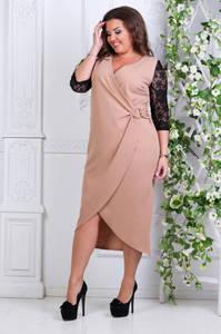 Платье короткое нарядное деловое Ф9912