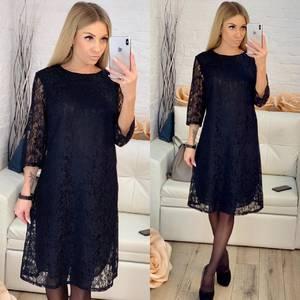 Платье короткое с принтом Х0030