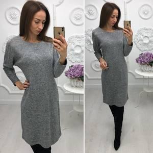 Платье короткое нарядное трикотажное Ф3383