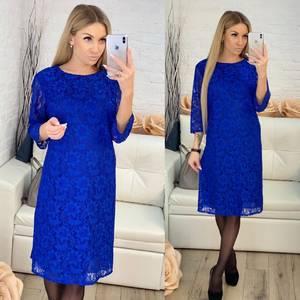Платье короткое с принтом Х0031