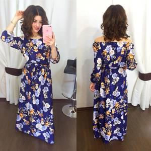 Платье длинное нарядное Х5769