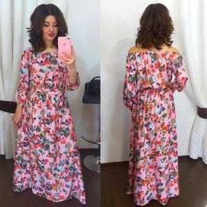 Платье длинное нарядное Х5770