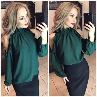 Блуза с длинным рукавом Х6366