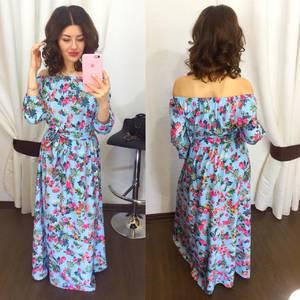 Платье длинное нарядное Х5771