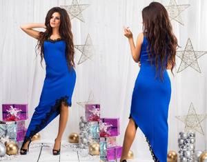 Платье короткое вечернее элегантное С8820