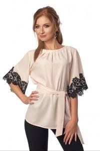 Блуза с кружевом Ц3487