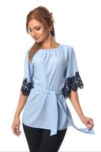 Блуза с кружевом Ц3488