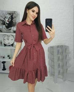 Платье короткое нарядное А35235