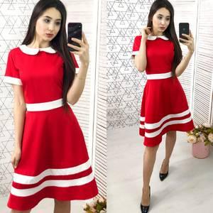 Платье короткое нарядное Ч2404