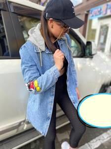 Джинсовая куртка А55117