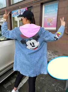 Джинсовая куртка А55118