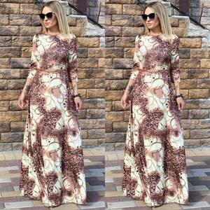 Платье длинное нарядное Ц6508