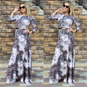 Платье длинное нарядное Ц6512
